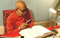 Srila Prabhupada translating books